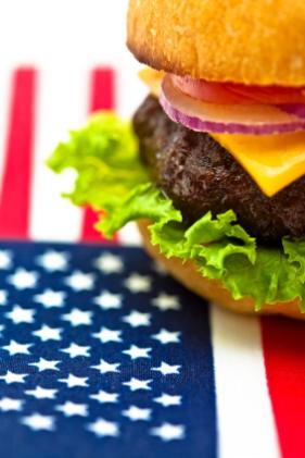 american cheesburger