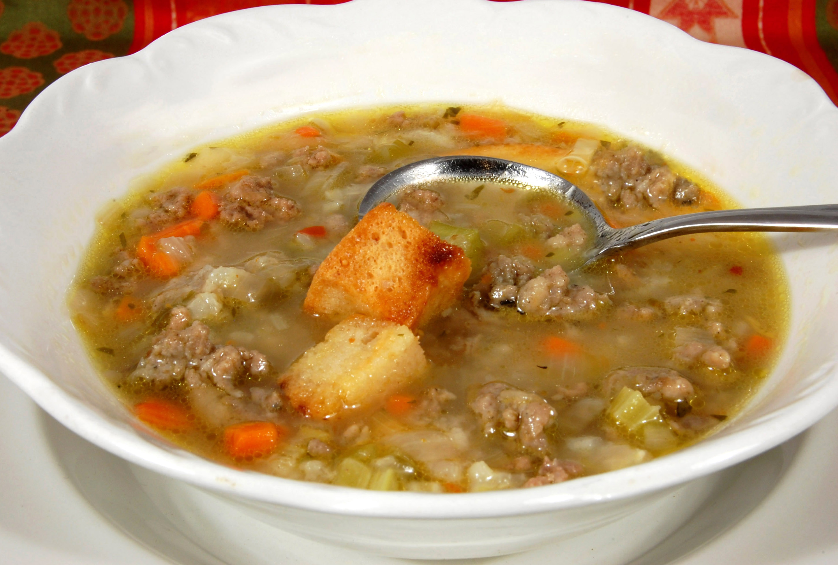 Rescued Recipes Hamburger Soup From Jan D Atri